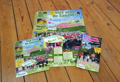Documents Promotionnels de la Voie Verte