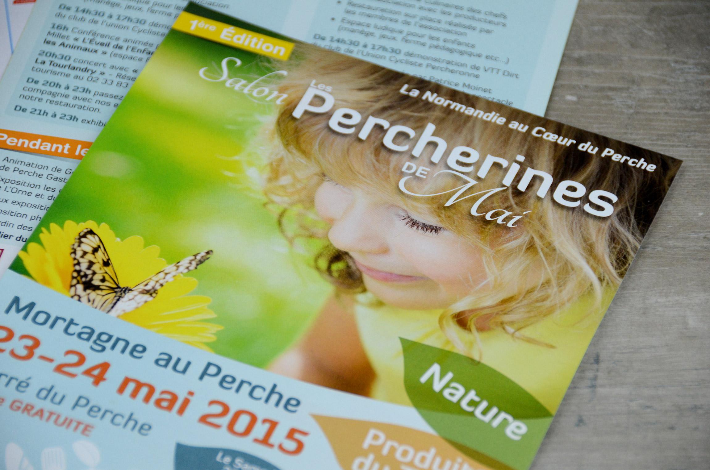 Flyer - Les Percherines de Mai