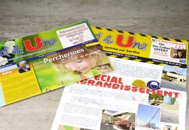"Magazine ""A La Une"""